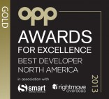 OPP Gold Award for Excellence: North Dakota Developments, Best Developer - North America 2013